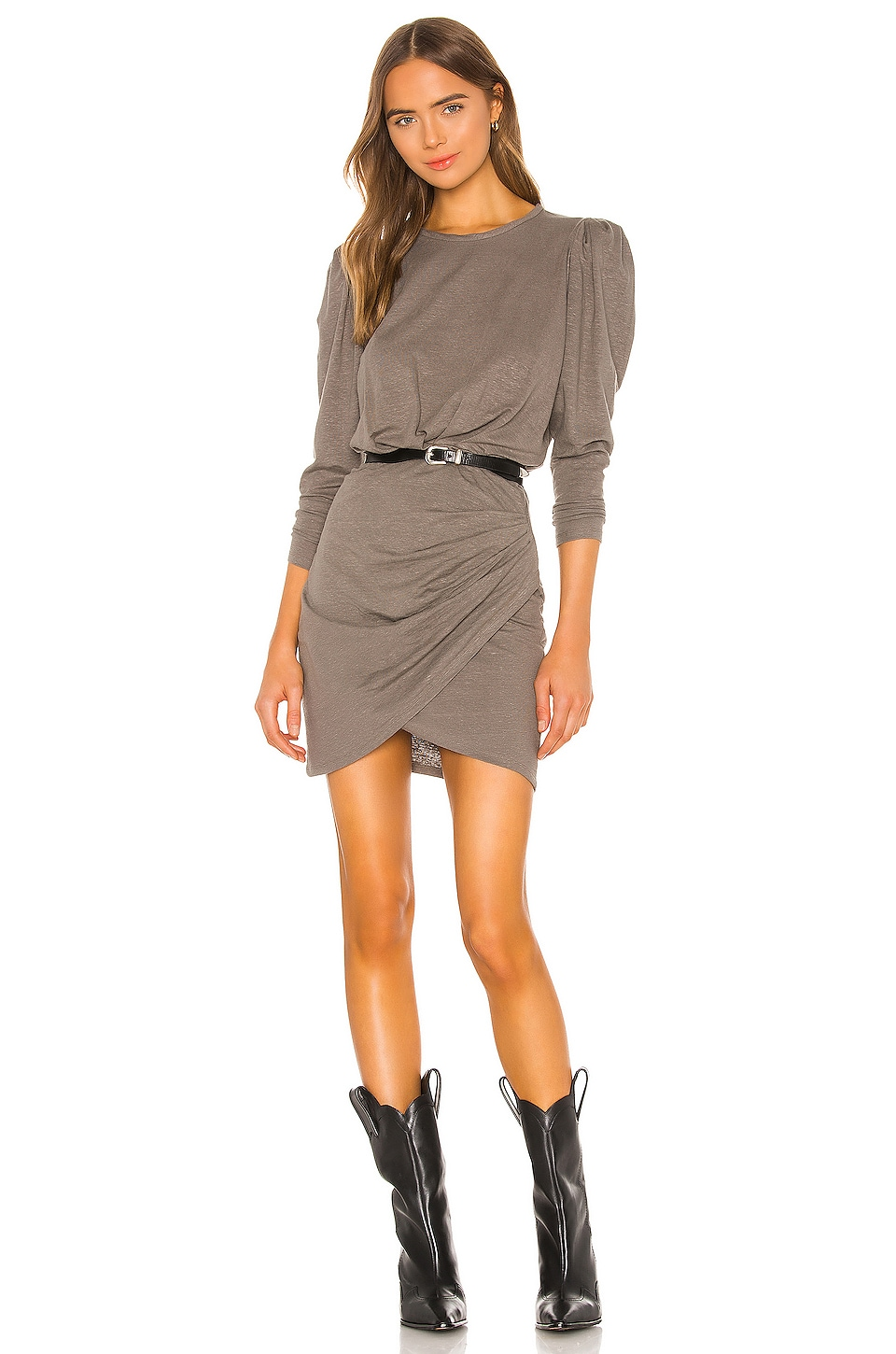 IRO Garah Dress in Khaki
