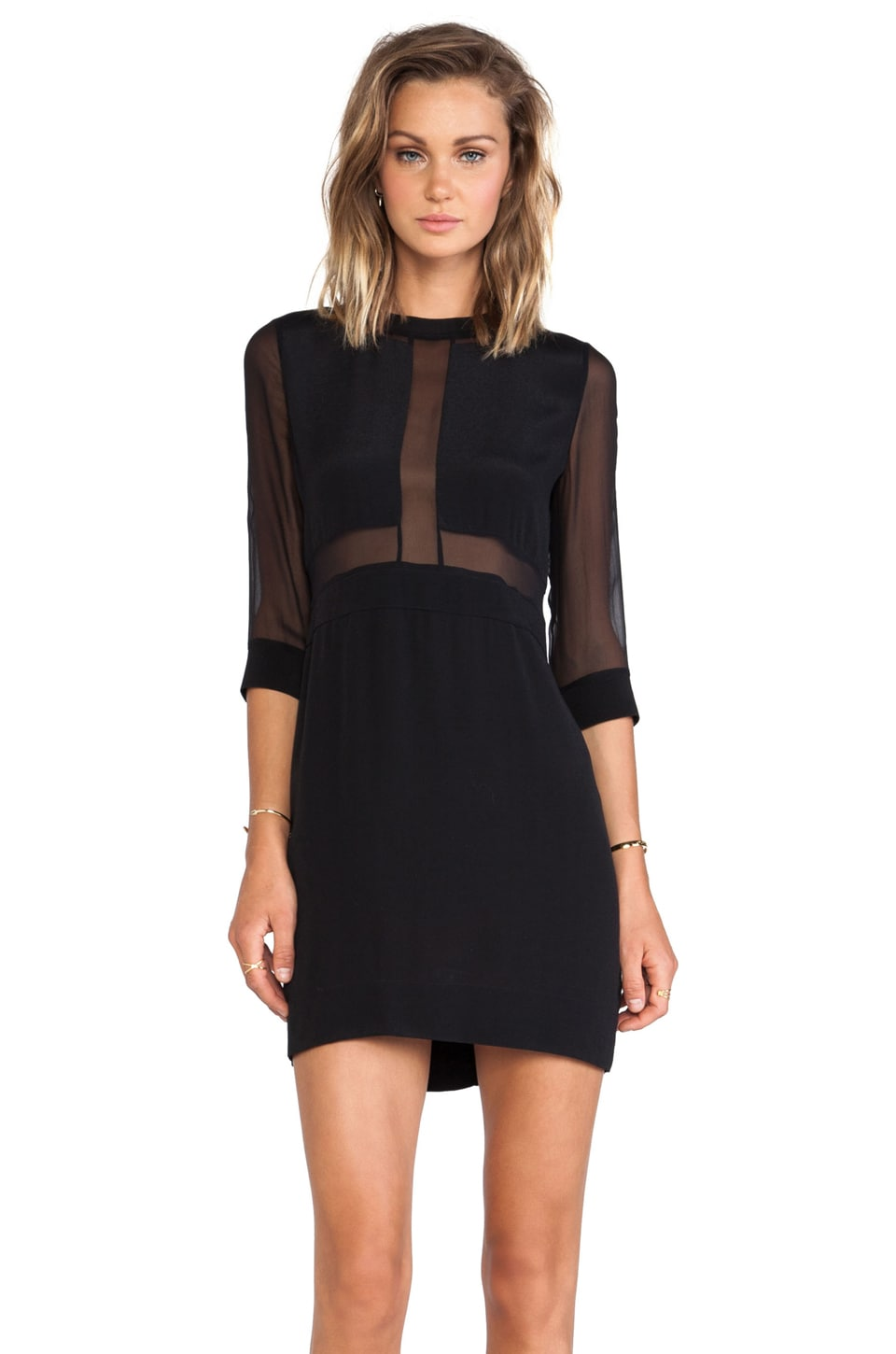 IRO Tina Dress in Black