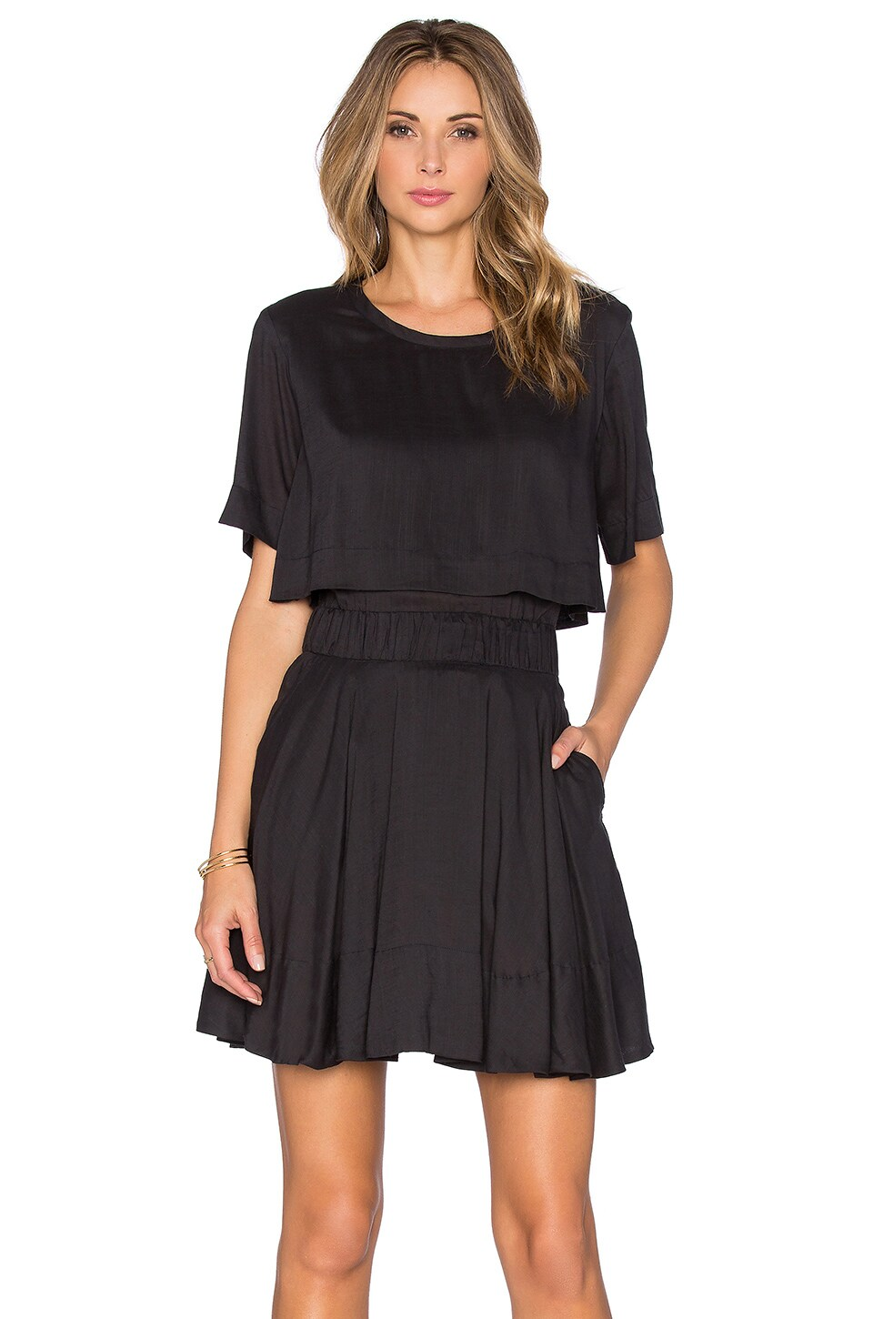 IRO Felly Dress in Black