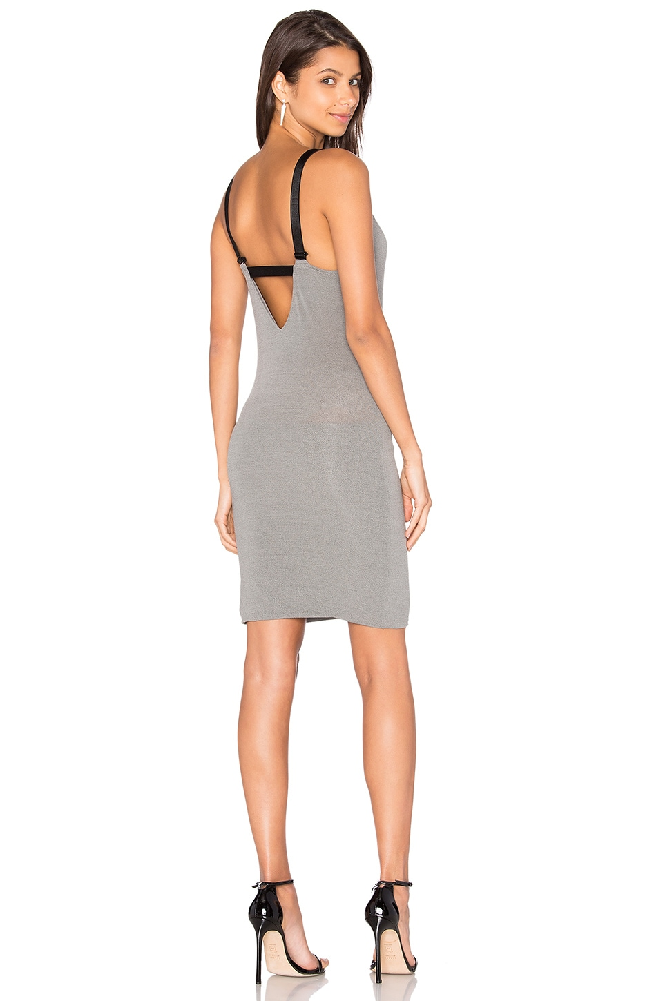 IRO Mealine Dress in Steel Grey