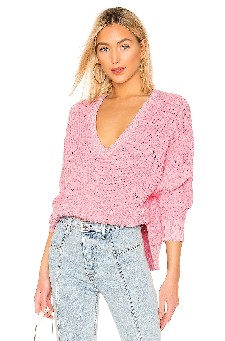 IRO Wealthy Sweater in Candy Pink