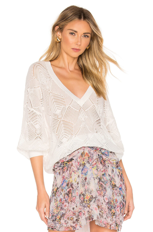 IRO Dusk Sweater in White