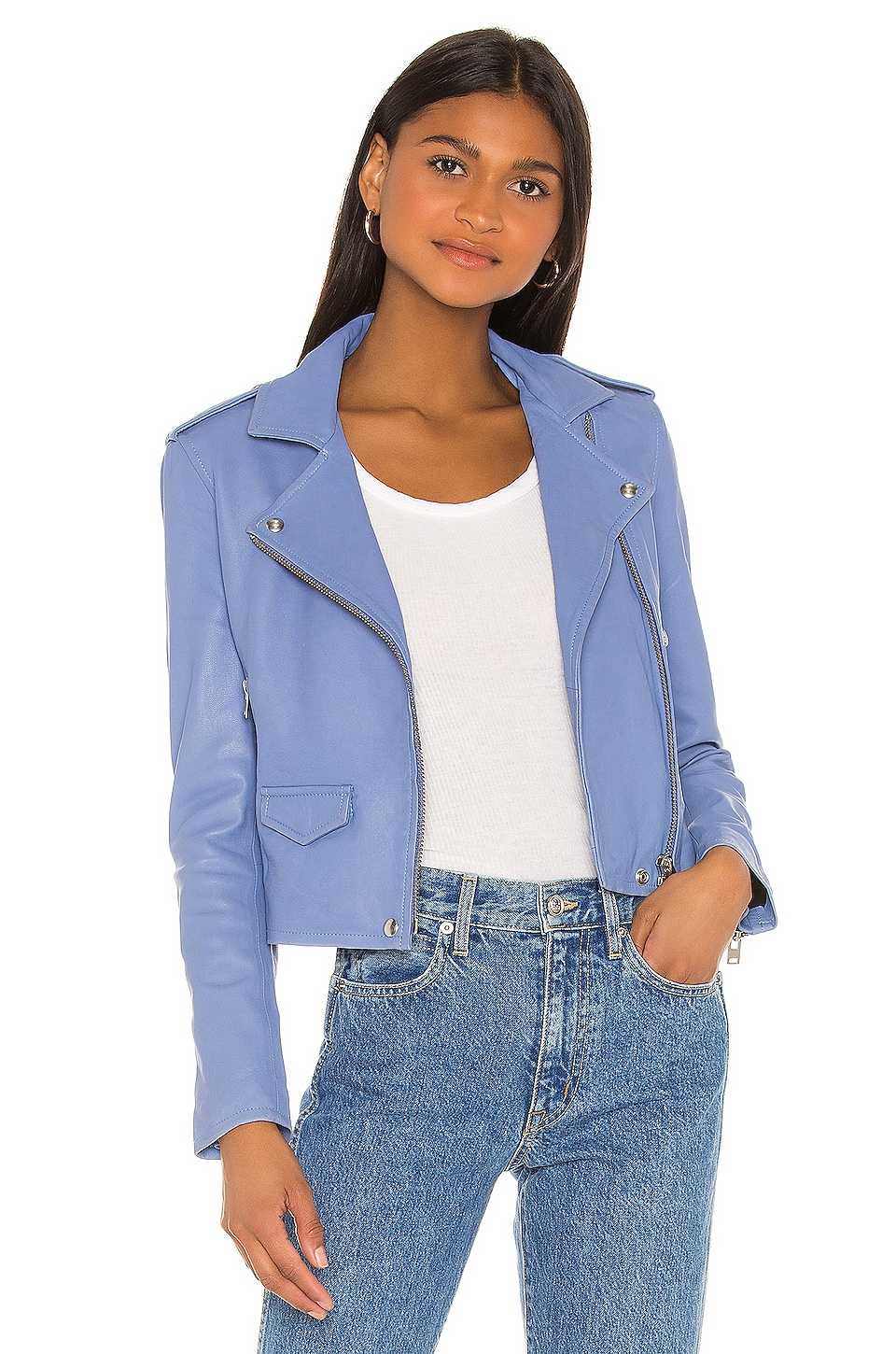 IRO Ashville Jacket in Light Blue