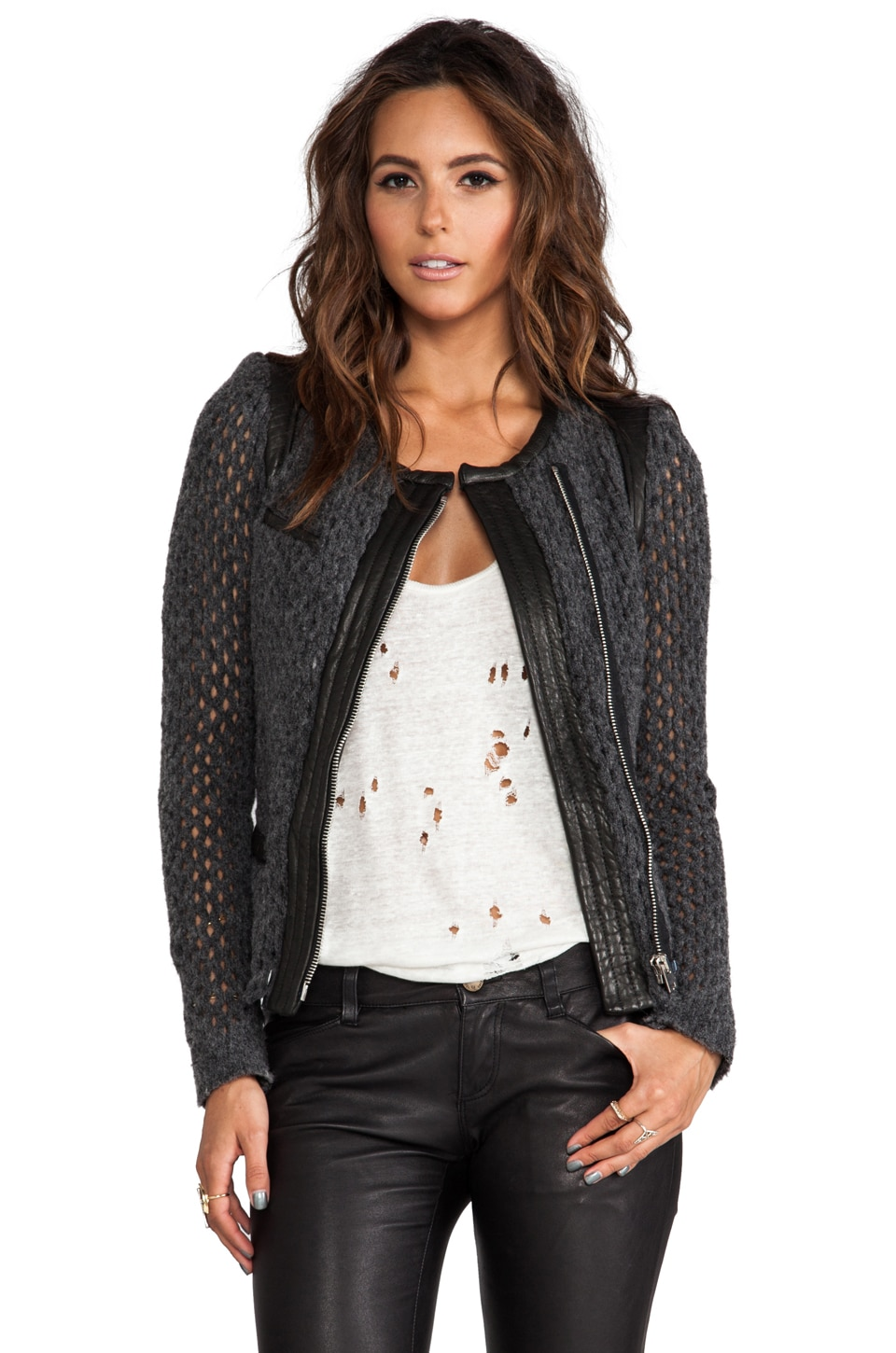 IRO Lina Jacket in Anthracite