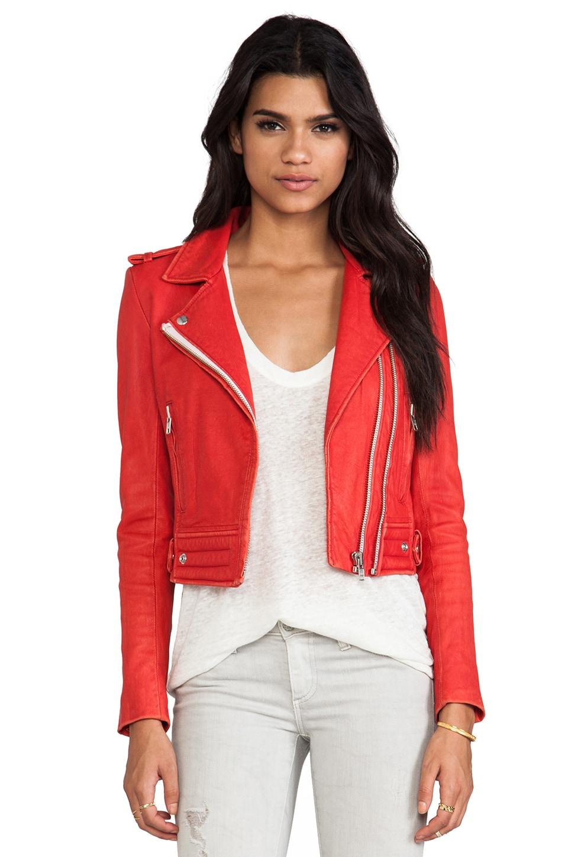 IRO Luiga Jacket in Red