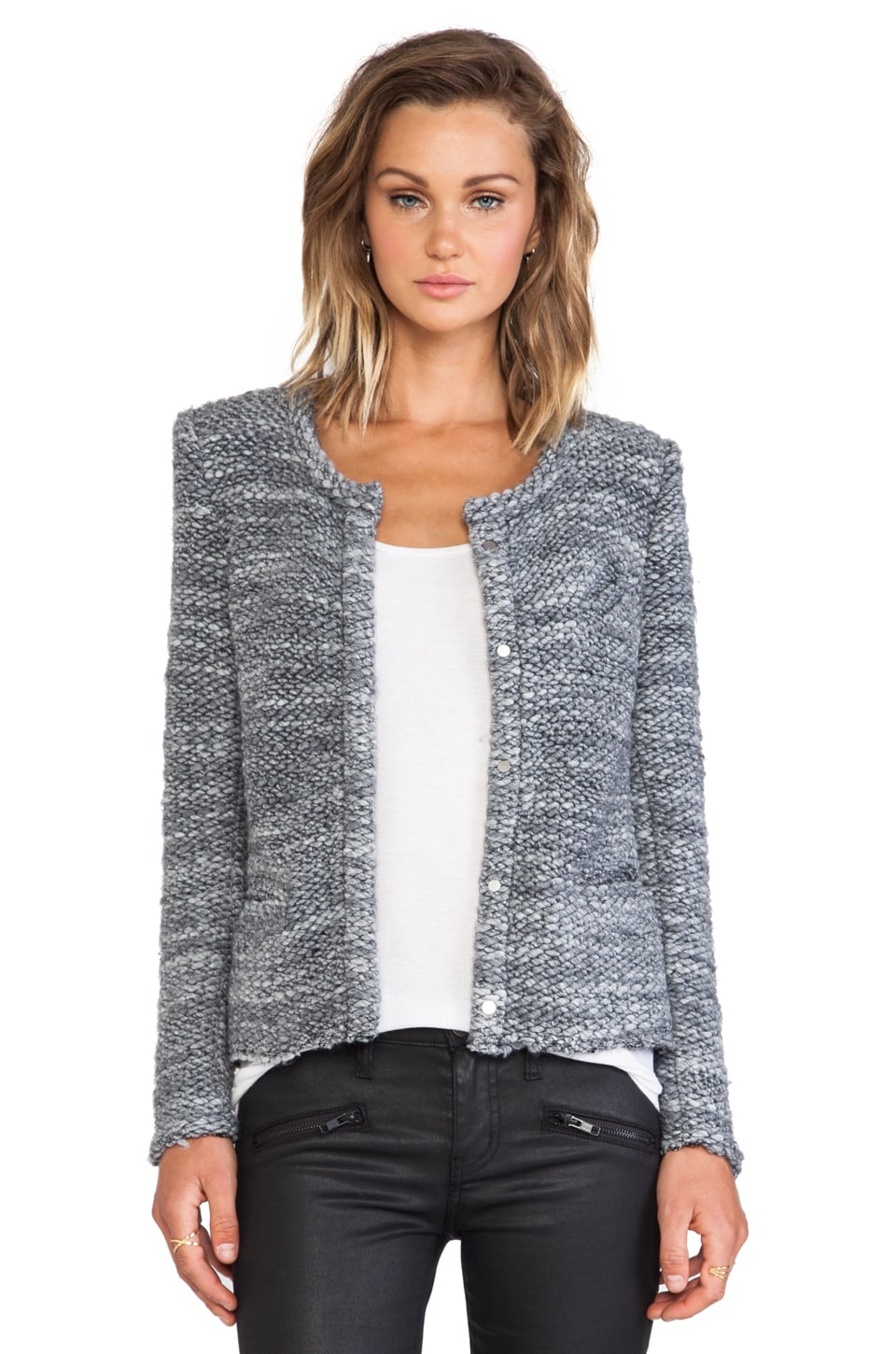 IRO Carene Jacket in Dark Grey