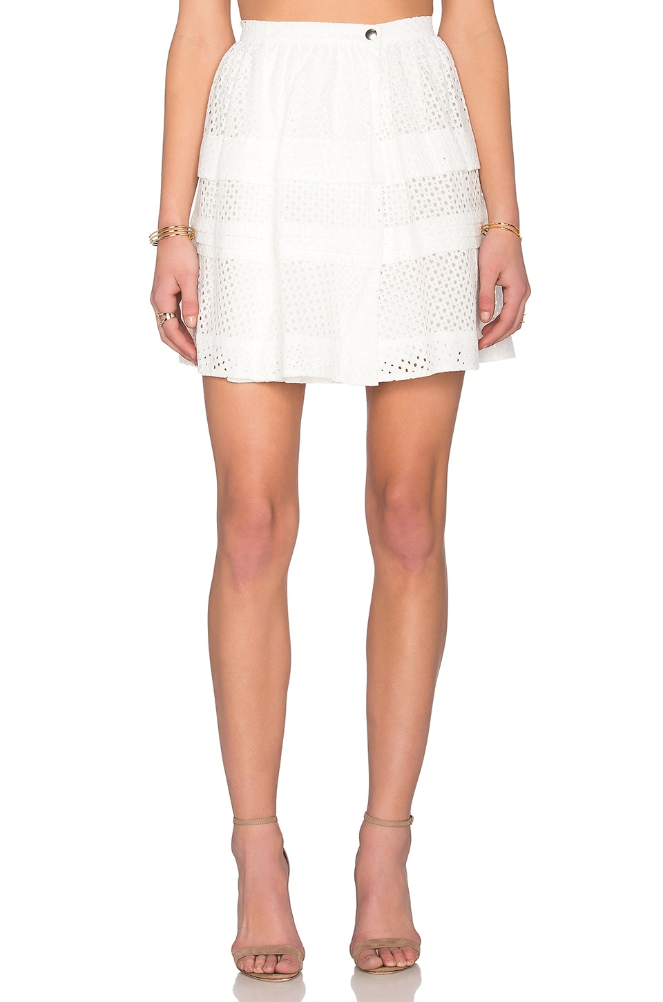 IRO Gaetane Skirt in White
