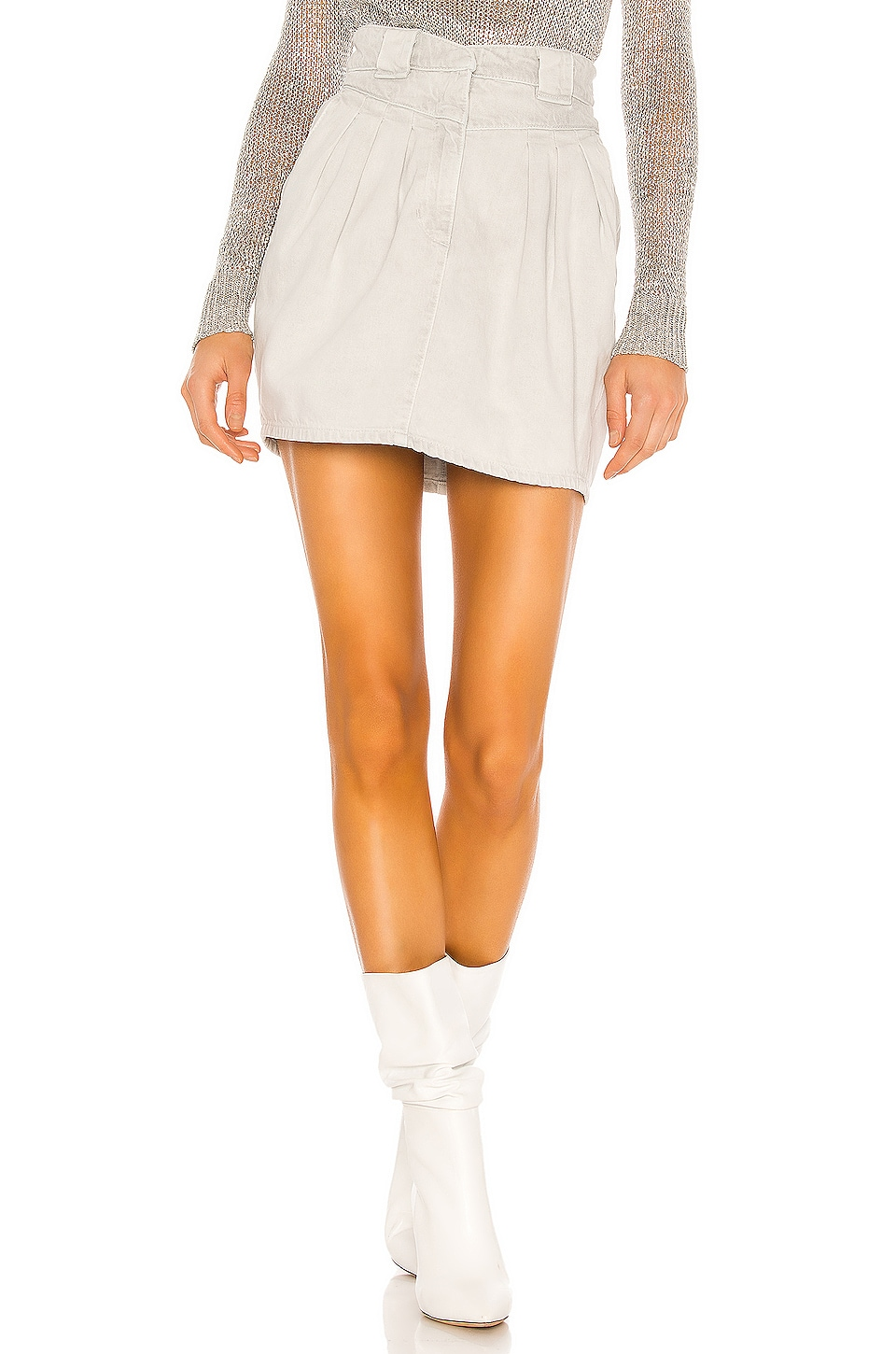 IRO Senti Skirt in Grey White