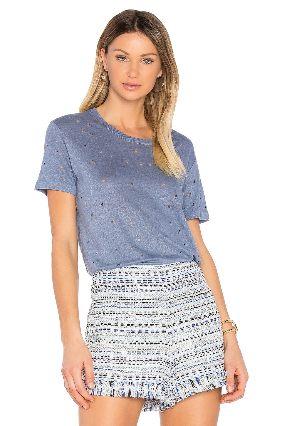 IRO Clay Tee in Lavender