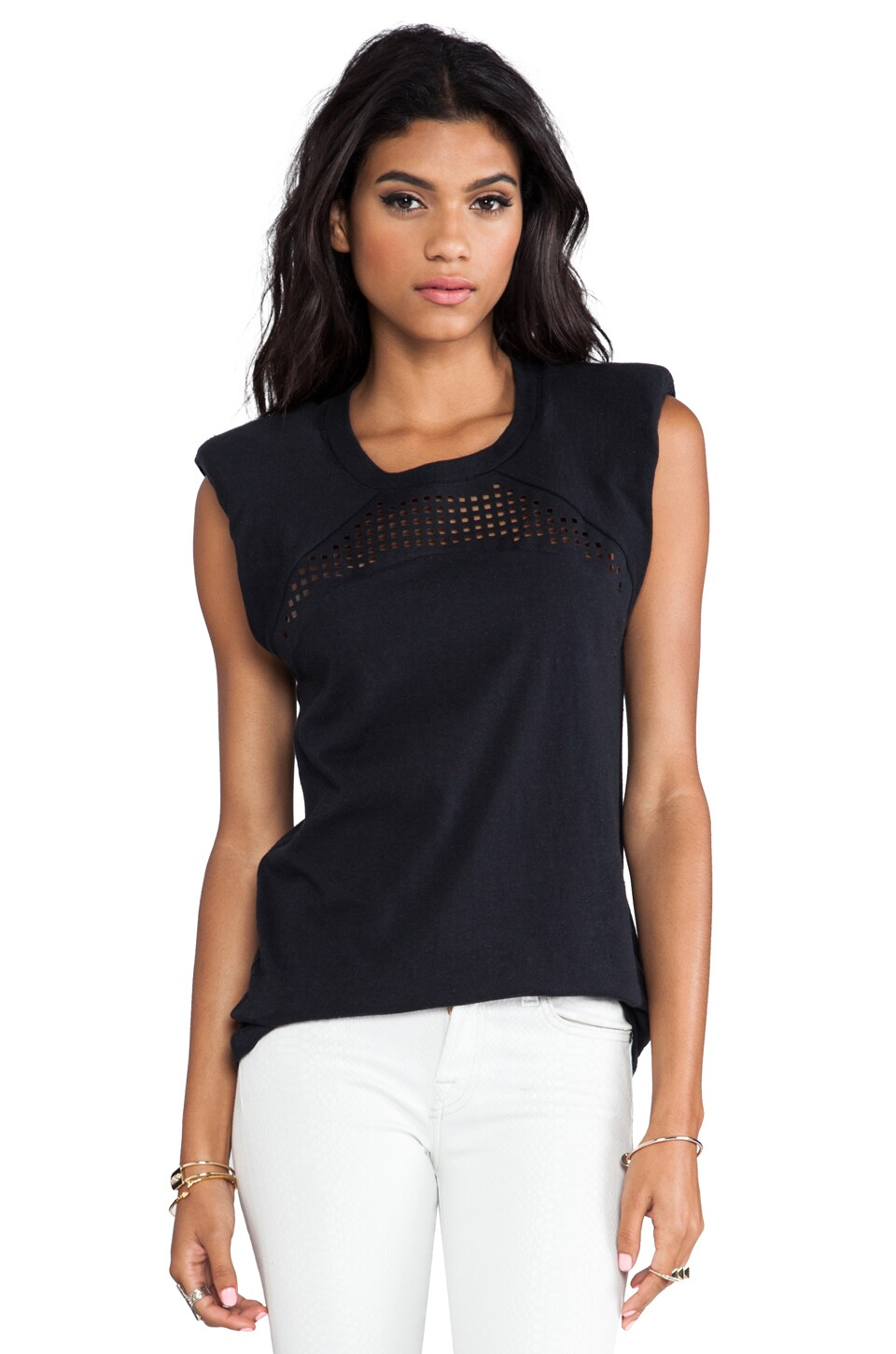 IRO Anacel Top in Noir