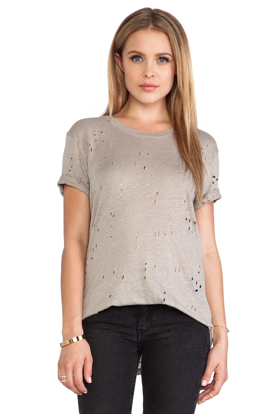 IRO Clay Tee in Beige