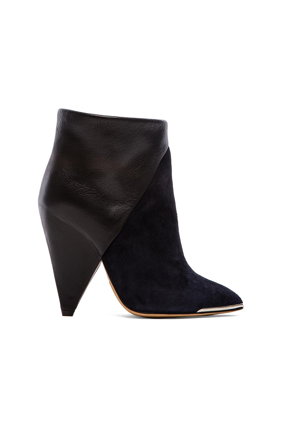 IRO Keira Bootie in Navy