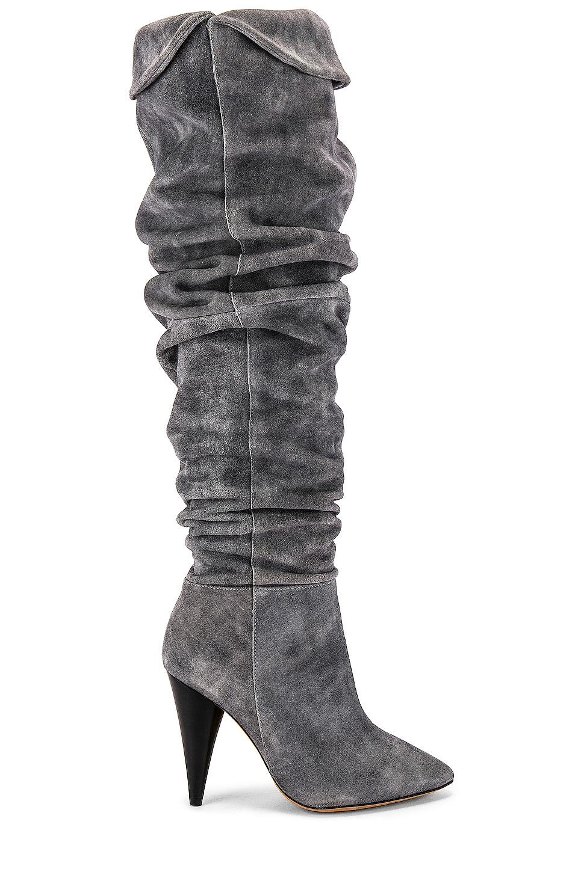 IRO Groove Boot in Grey