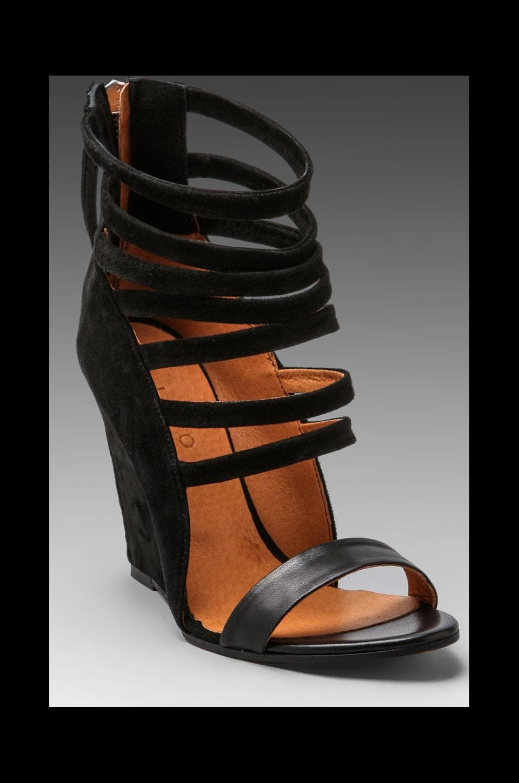 IRO Mirlind Sandal in Noir