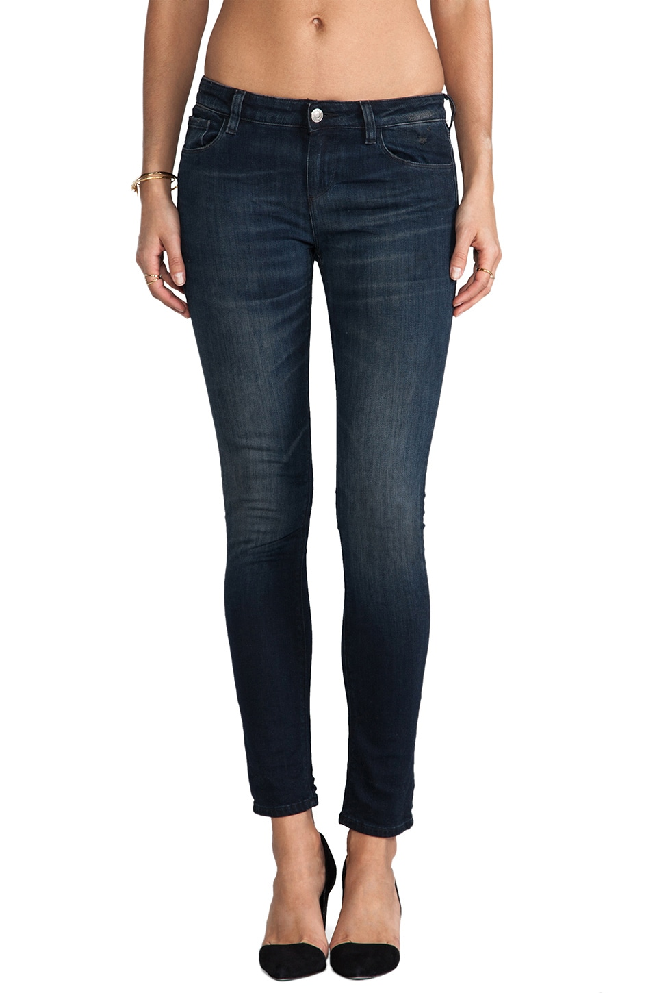 IRO . JEANS Benthal Skinny in Navy Blue