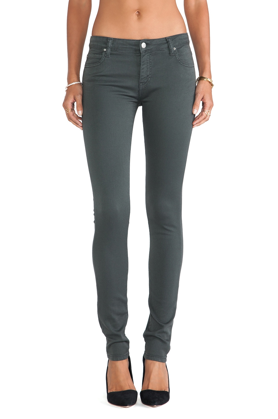 IRO . JEANS Aleka Fitte Skinny in Stone Grey