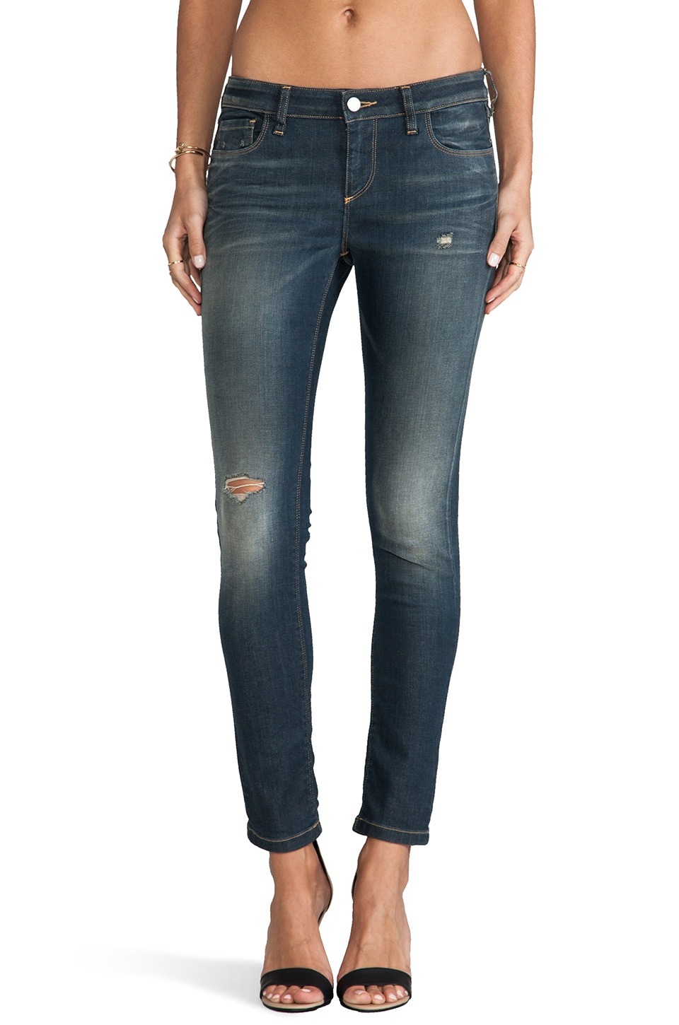 IRO . JEANS Narford Skinny in Navy Blue