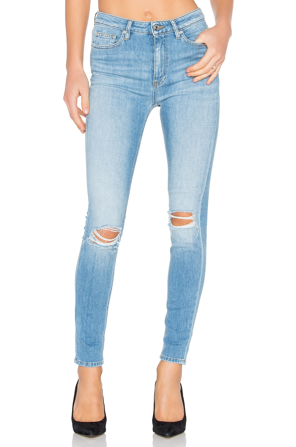 Pamela Distressed Skinny by IRO . JEANS