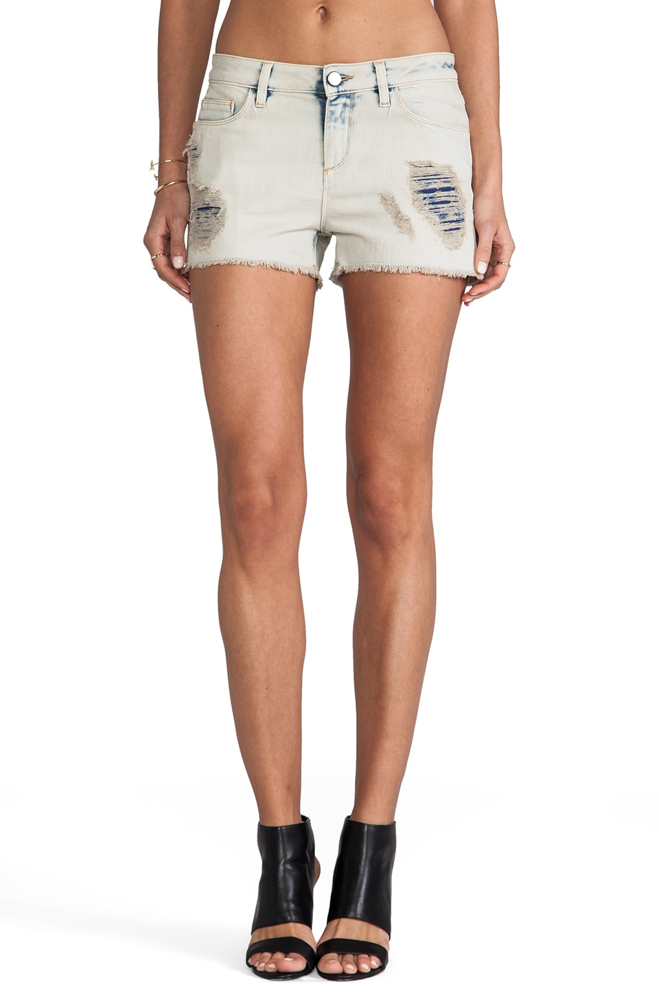 IRO . JEANS Reina Shorts in Clay