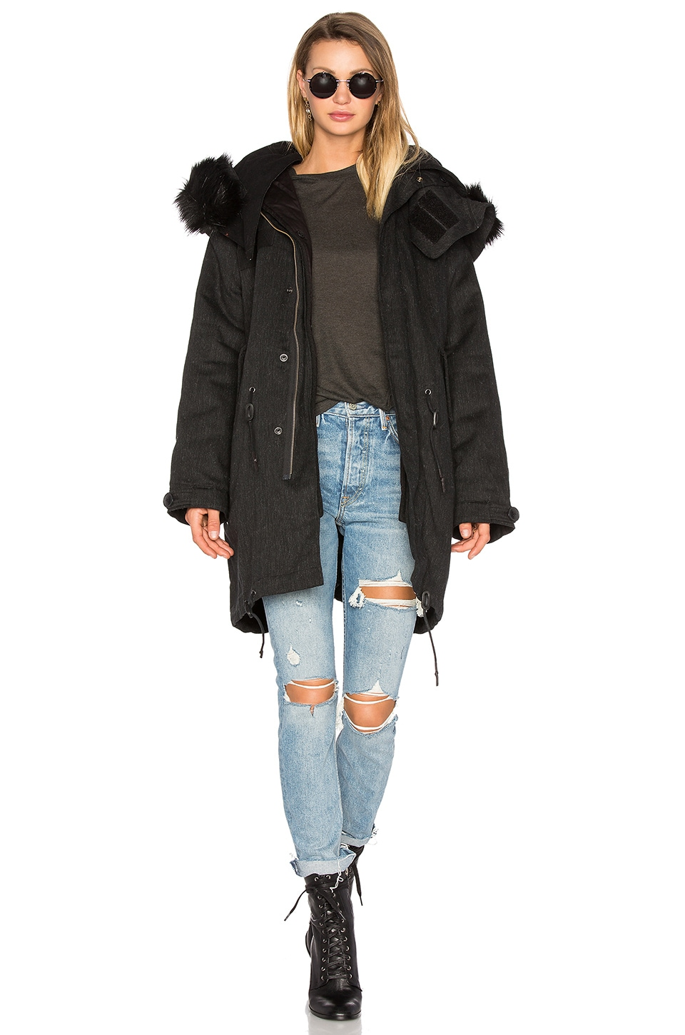 Ismery Faux Fur Jacket by IRO . JEANS