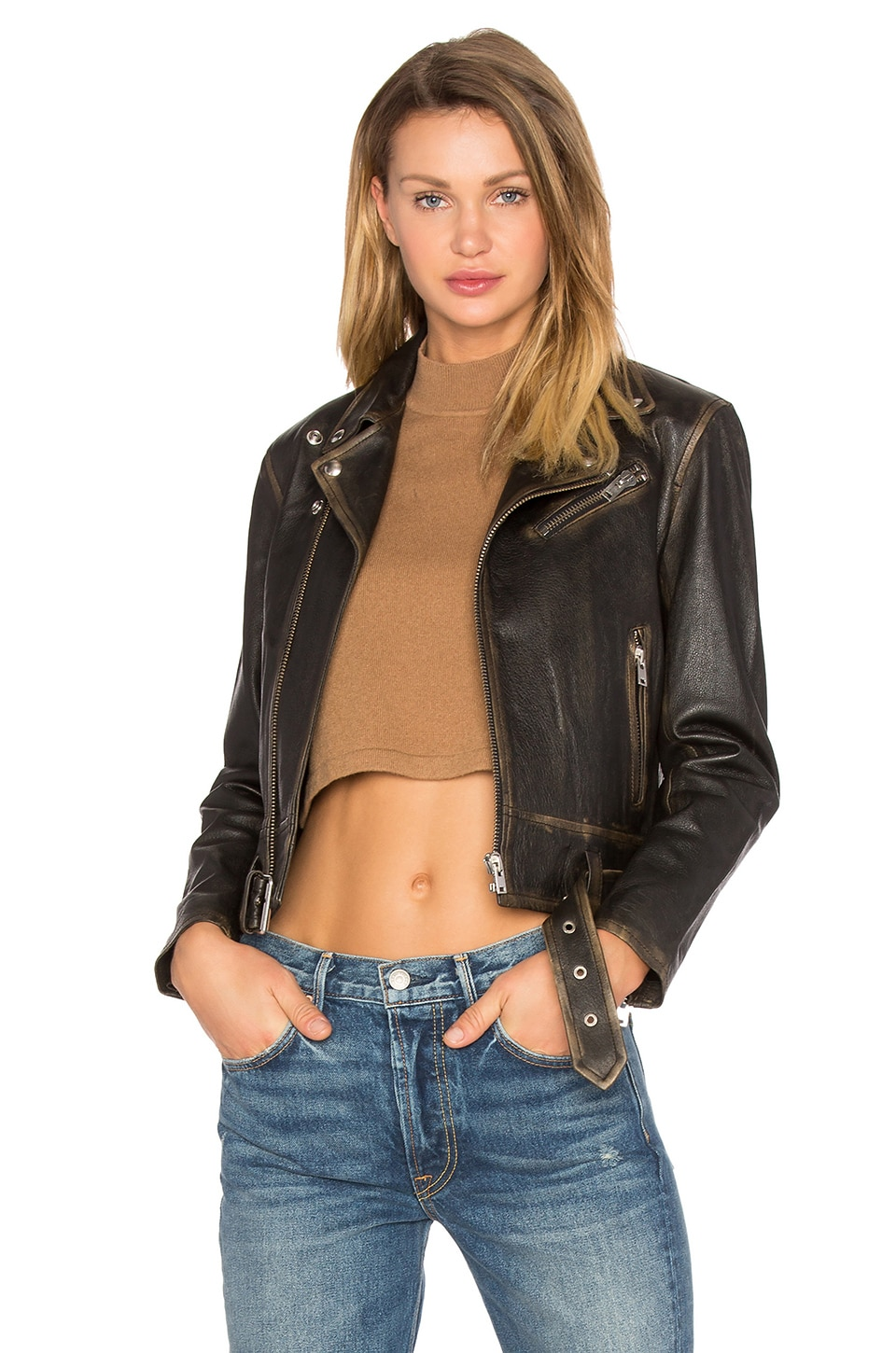 Wynter Moto Jacket by IRO . JEANS