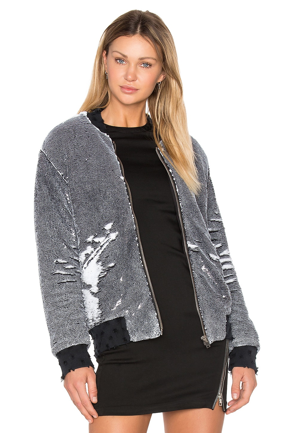 Photo of Amaia Sequin Bomber Jacket by Iro . Jeans on sale