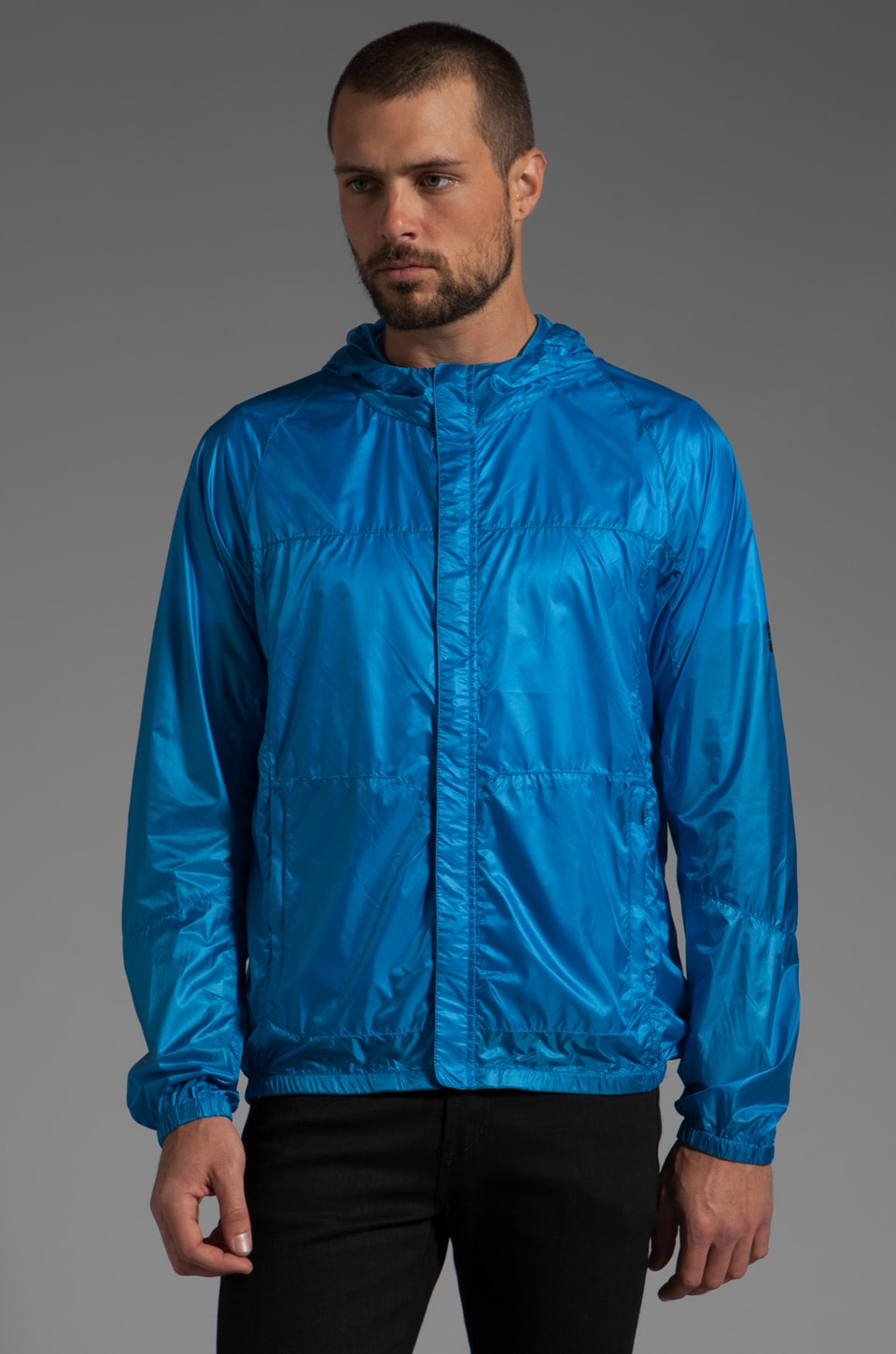 ISAORA Pertex Quantum Ultralight Packable Rain Shell en Bleu