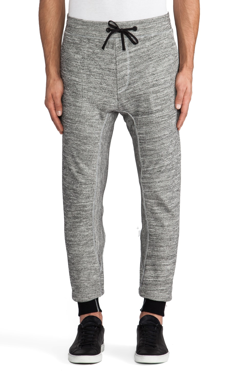 ISAORA Micro-Drop Sweatpant in Grey