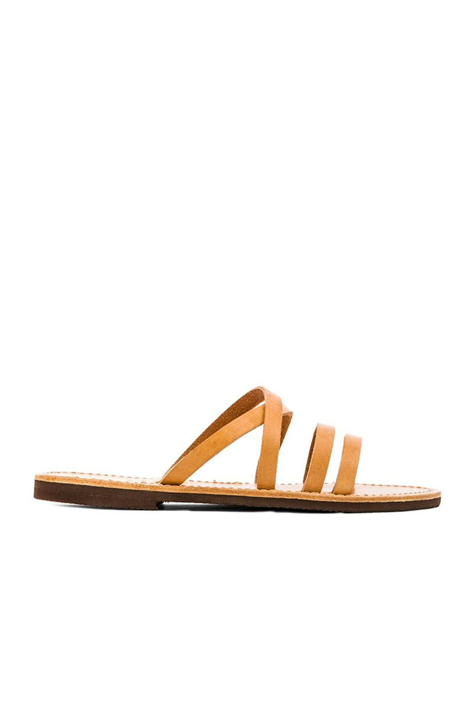 isapera Mersyni Sandal in Natural