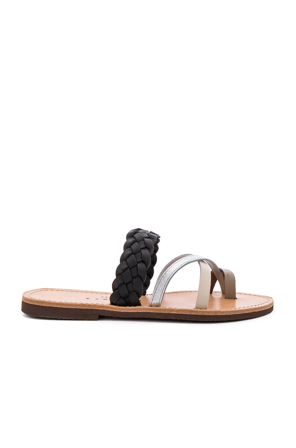 isapera Ftelia Sandal in Taupe