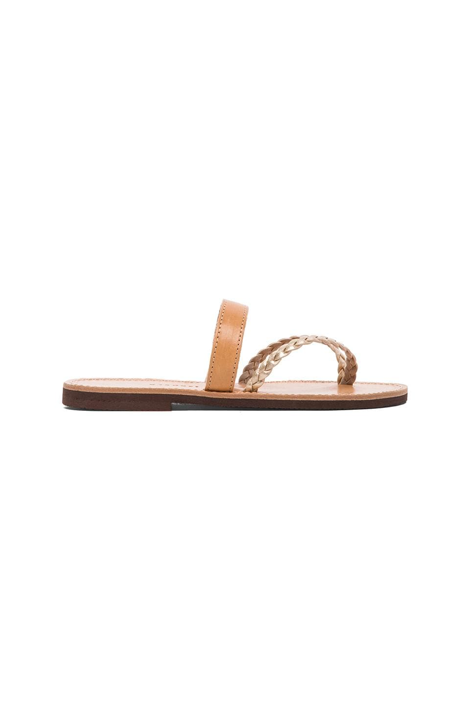 isapera Arocaria Sandal in Natural