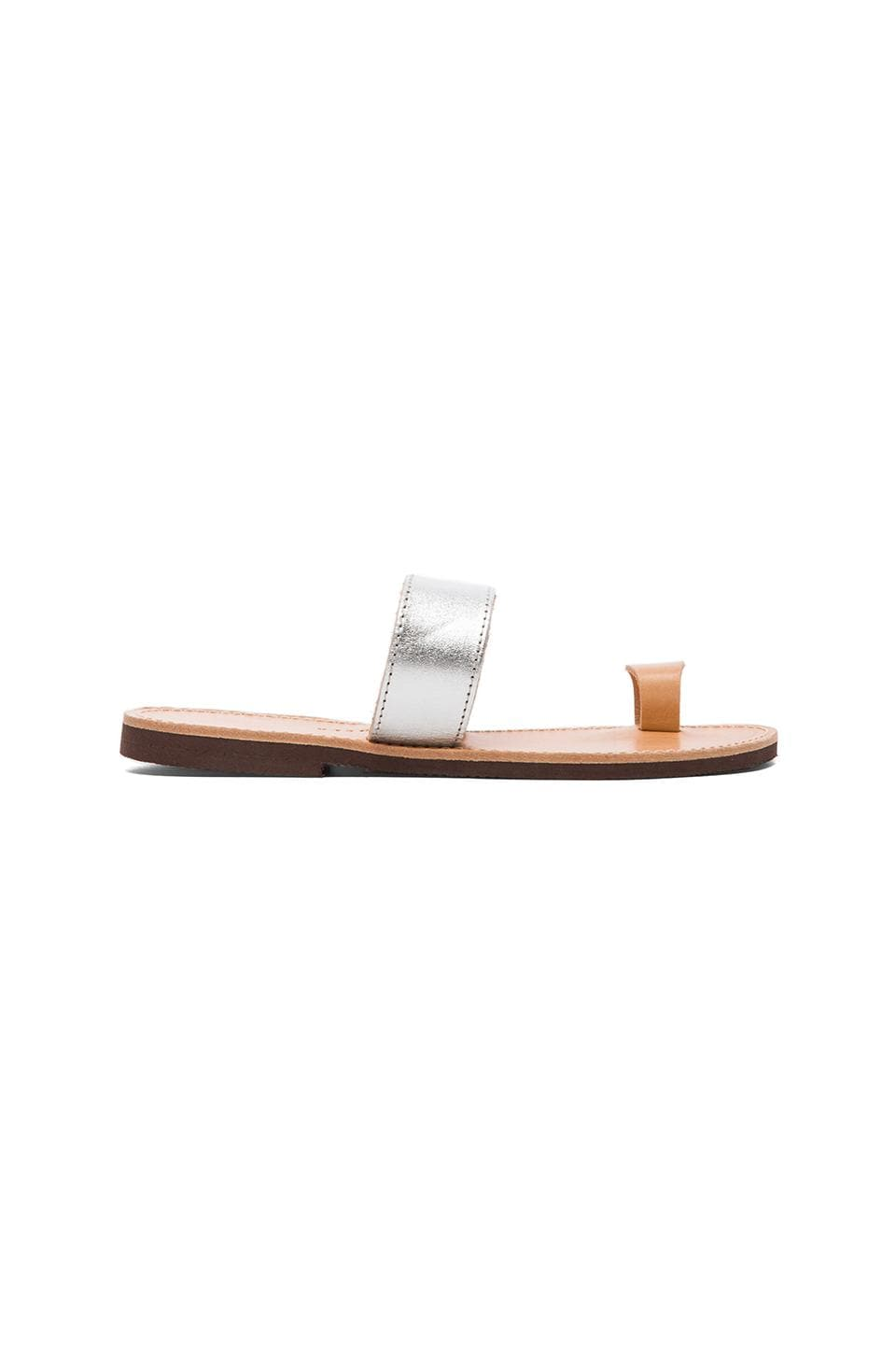 isapera Elia Sandal in Silver