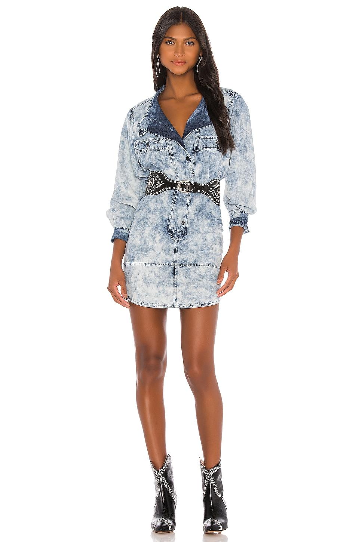 Isabel Marant Etoile Inaroa Dress in Blue