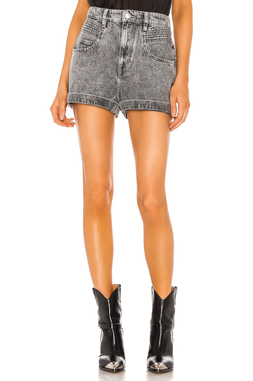Isabel Marant Etoile Hiana Shorts in Grey