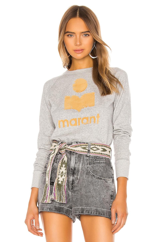 Isabel Marant Etoile Milly Sweatshirt in Grey