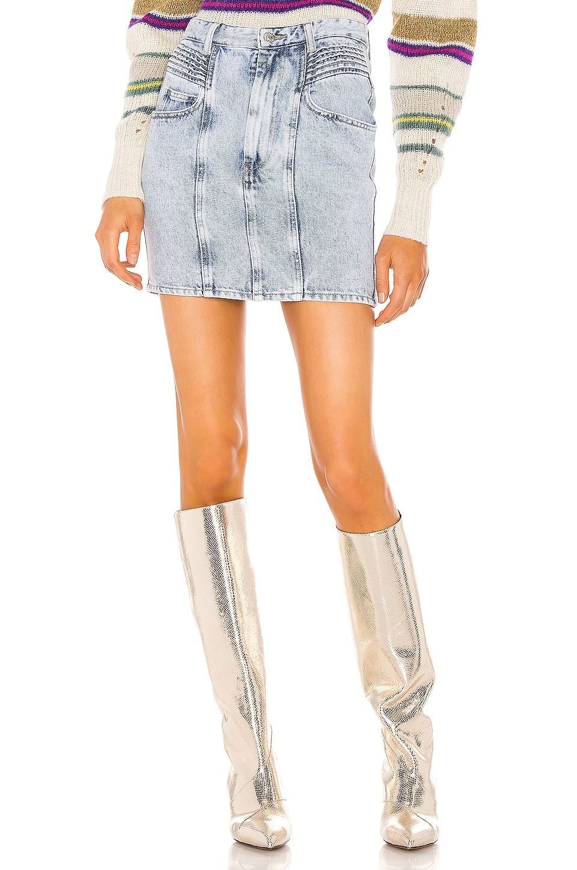 Isabel Marant Etoile Hondo Skirt in Lilac