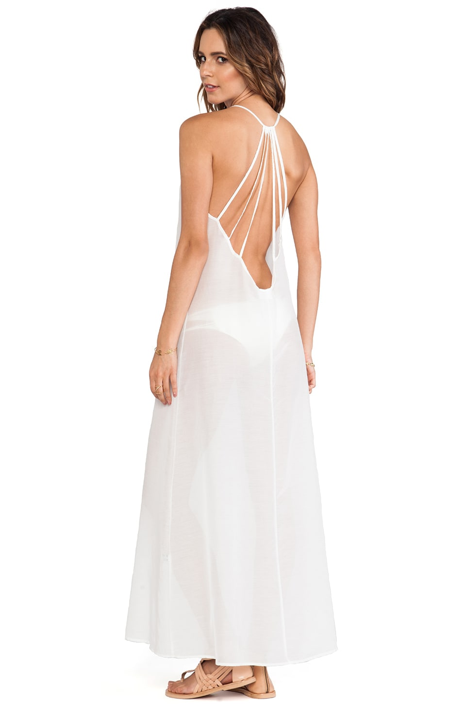 Issa de' mar St. Barts Maxi in White