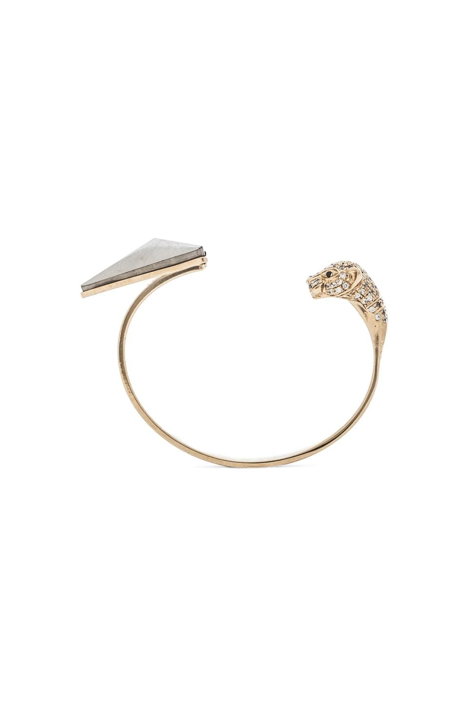 Iosselliani Cuff in Gold