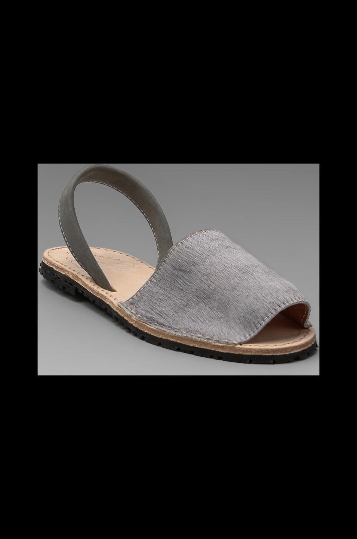 Ishvara Albarcas Pony Sandal in Drak Grey