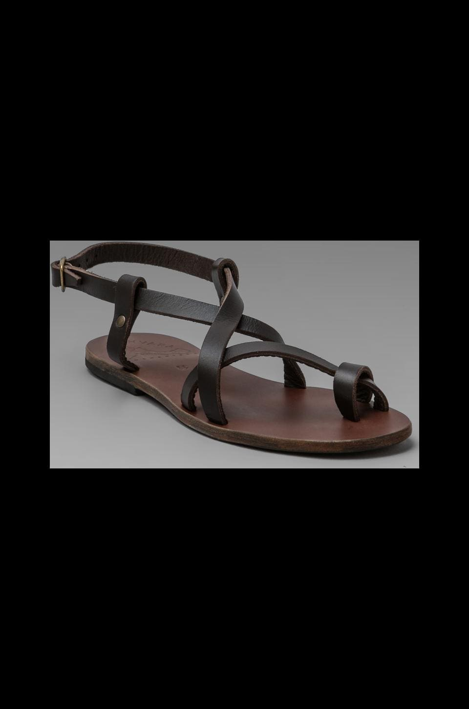 Ishvara Ibiza Sandal in Brown