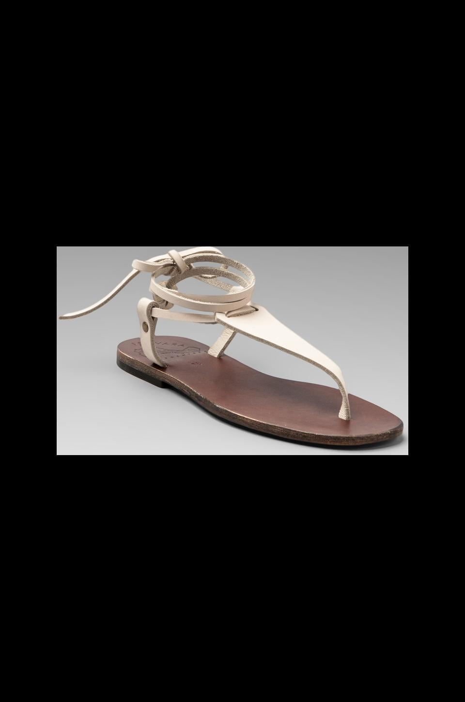 Ishvara Nubuck Terrassa Sandal in Linen
