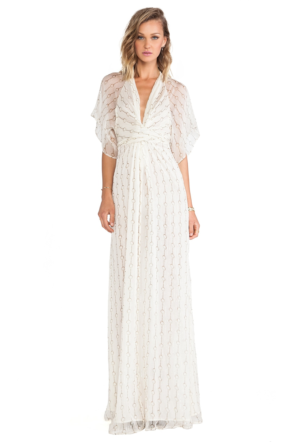 Issa Pollyanna Maxi Dress in Vapor