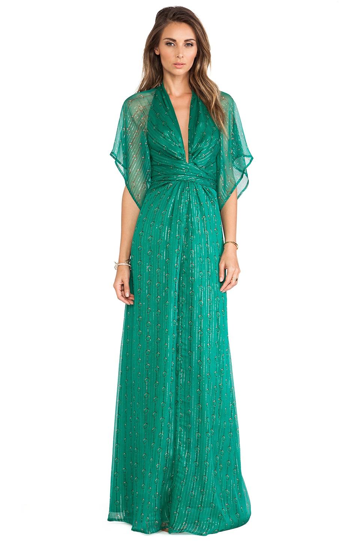 Issa Pollyanna Maxi Dress in Jade