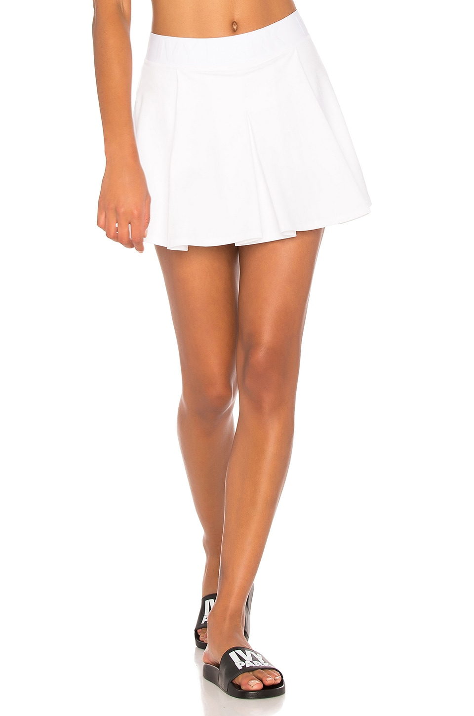 IVY PARK Tennis Skirt in White