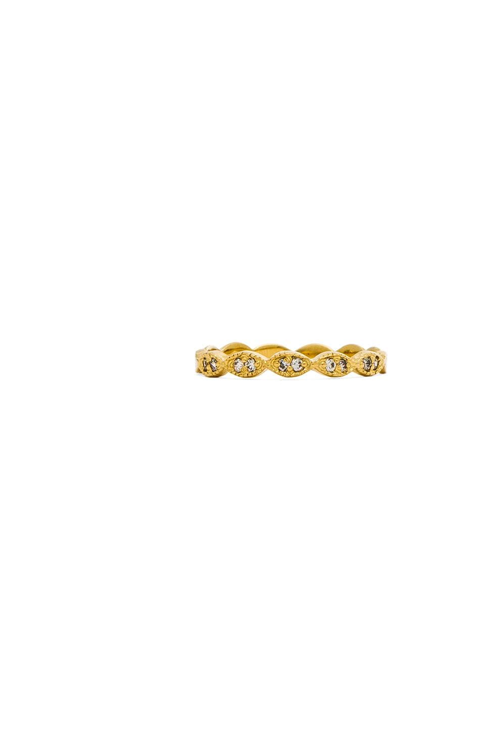 Jacquie Aiche Marquise Band in Gold