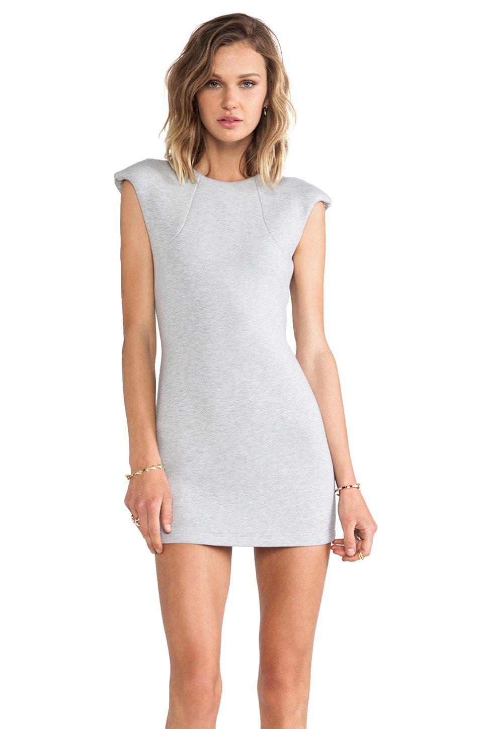 JAGGAR Atmosphere Dress in Grey Marle
