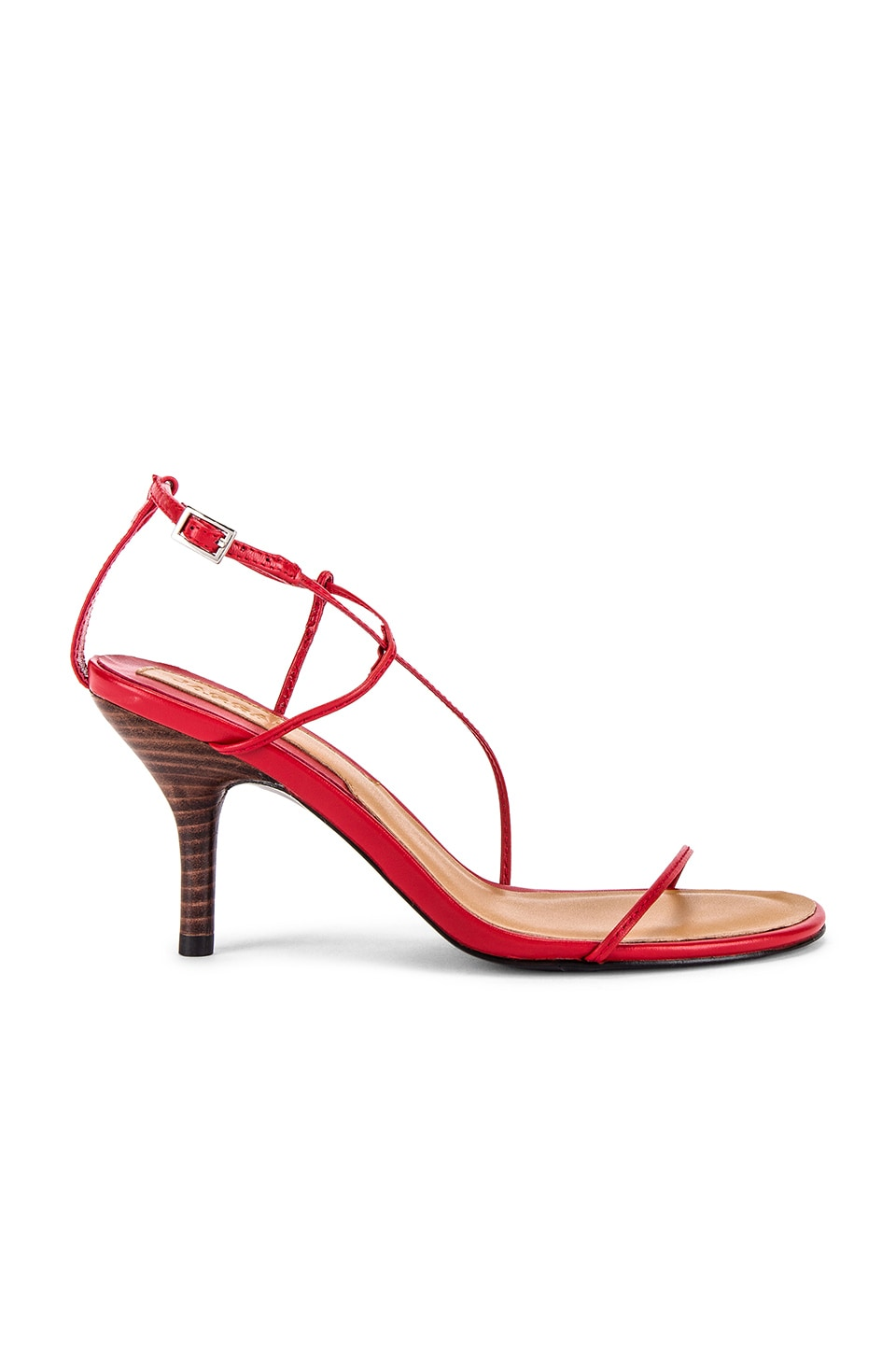 JAGGAR Naked Sandal in Red