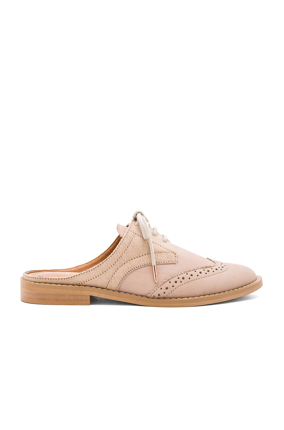 JAGGAR Capsule Cow Hair Oxford in Nude
