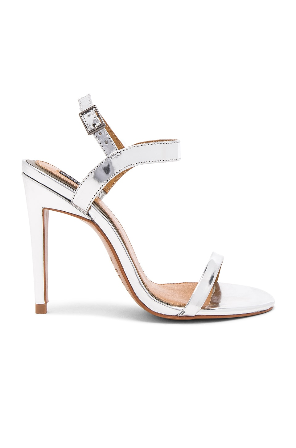JAGGAR Lane Metallic Heel in Silver