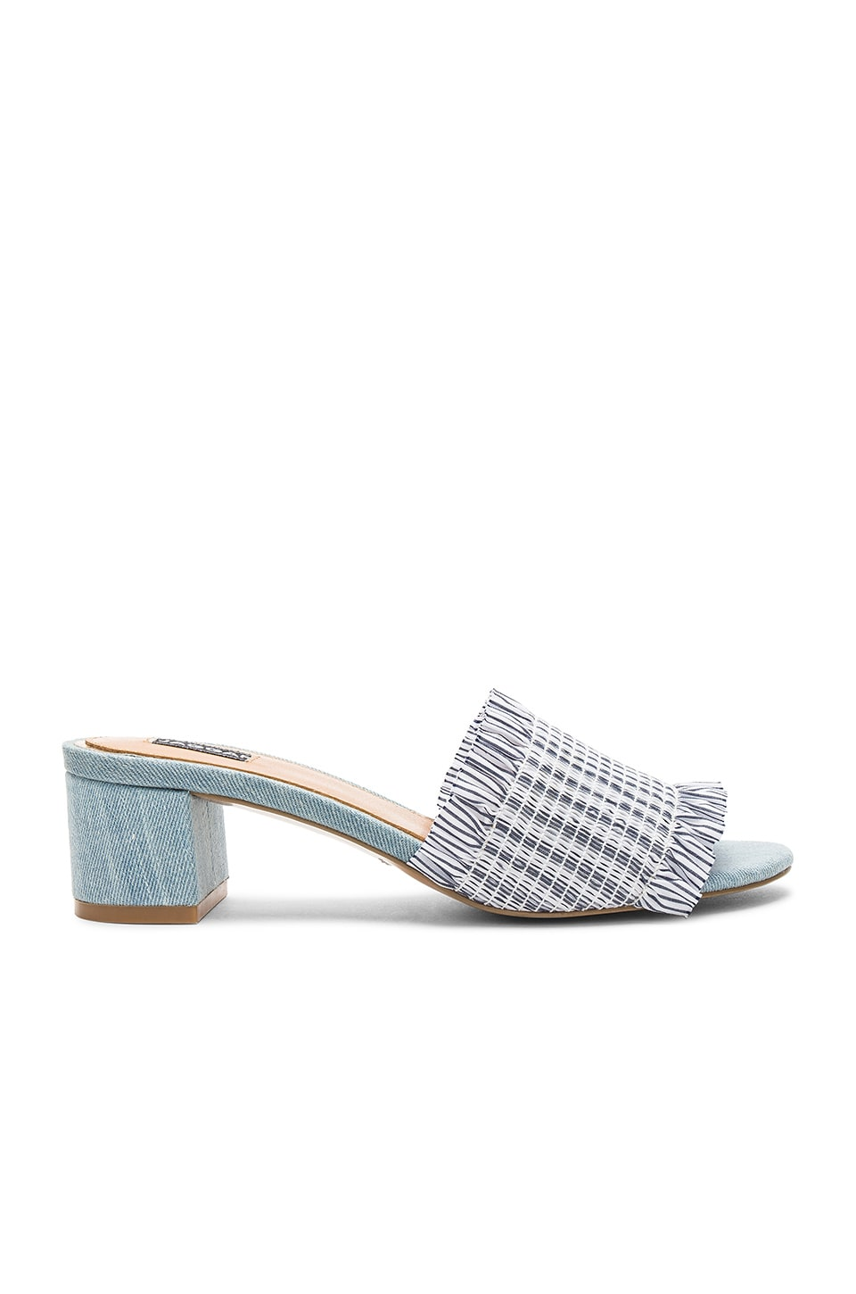 Stitched Stripe Mule by JAGGAR